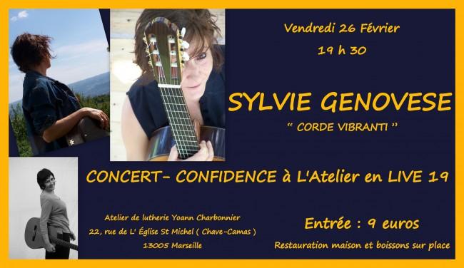 SYLVIE GENOVESE à L' Atelier